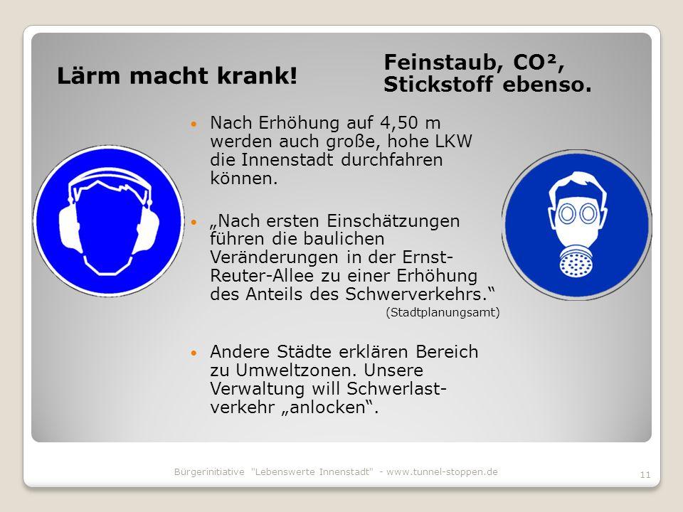 Bürgerinitiative Lebenswerte Innenstadt - www.tunnel-stoppen.de