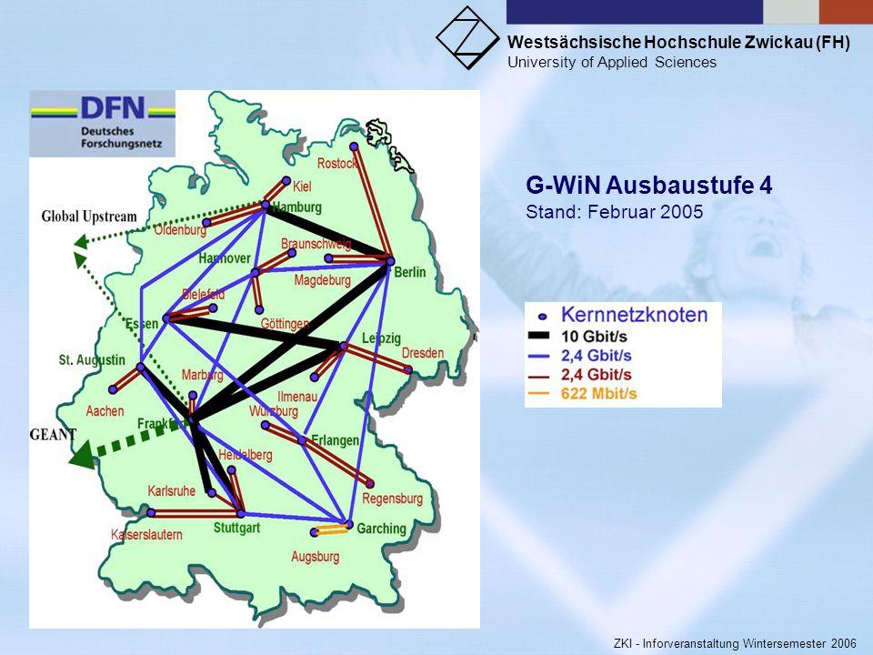 G-WiN Ausbaustufe 4 Stand: Februar 2005