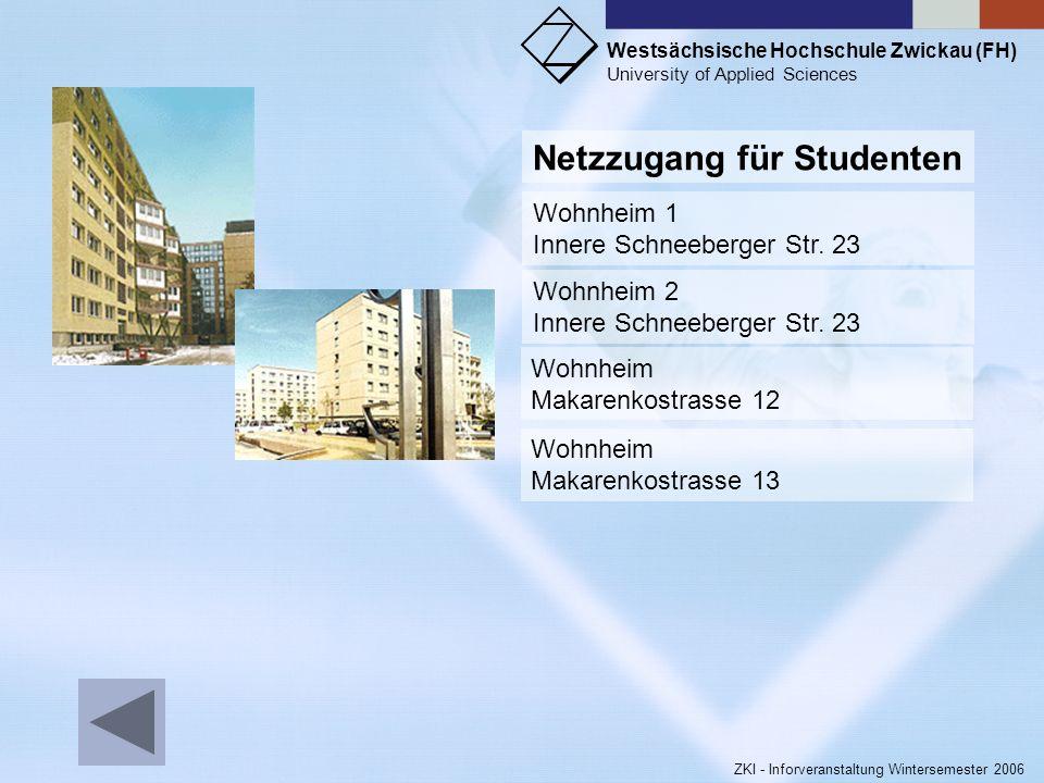 Netzzugang für Studenten