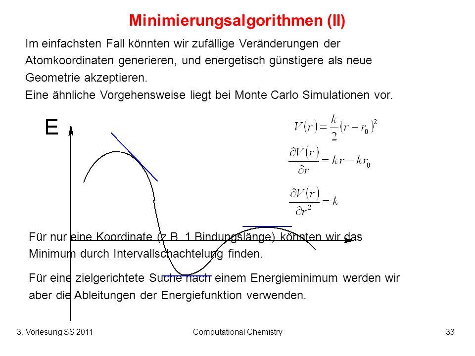 Minimierungsalgorithmen (II)
