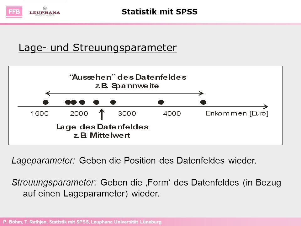 Lage- und Streuungsparameter