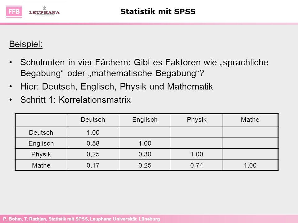 Hier: Deutsch, Englisch, Physik und Mathematik