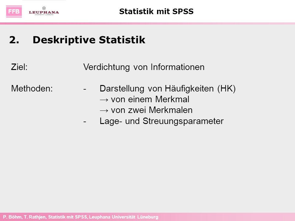 2. Deskriptive Statistik