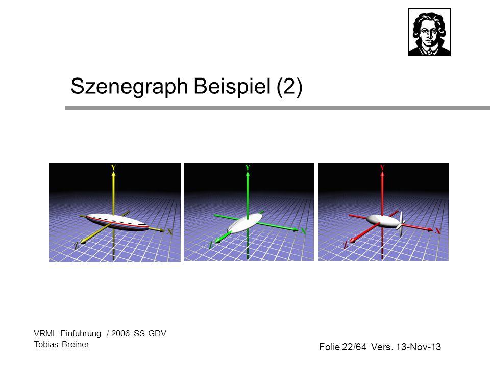 Szenegraph Beispiel (2)