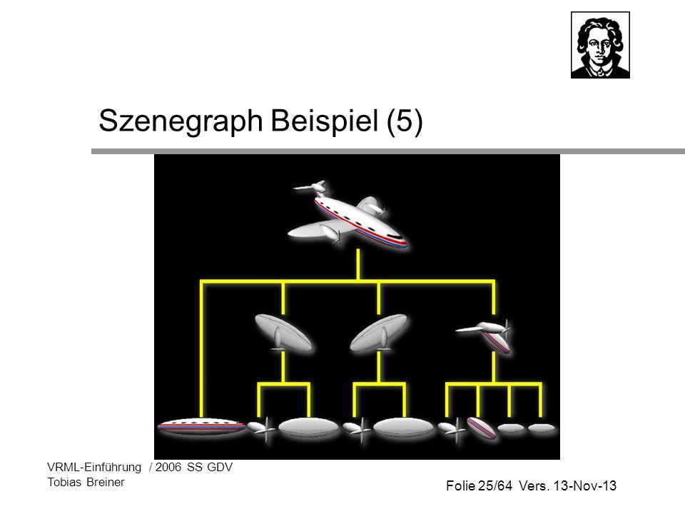 Szenegraph Beispiel (5)