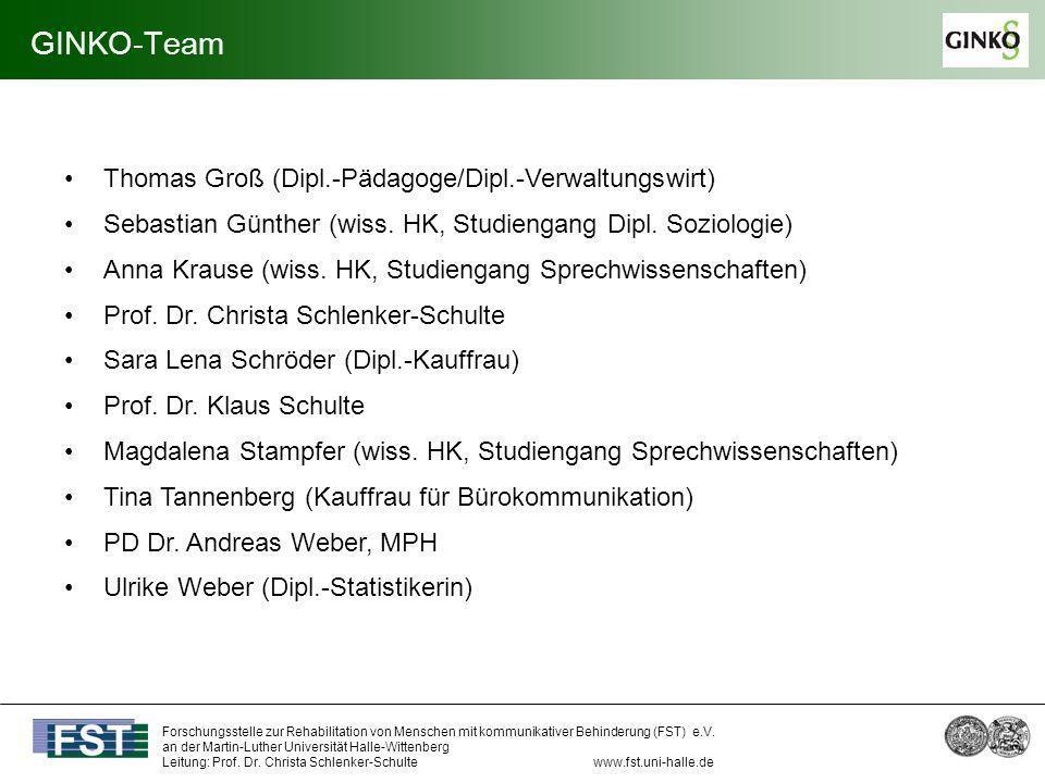 GINKO-Team Thomas Groß (Dipl.-Pädagoge/Dipl.-Verwaltungswirt)