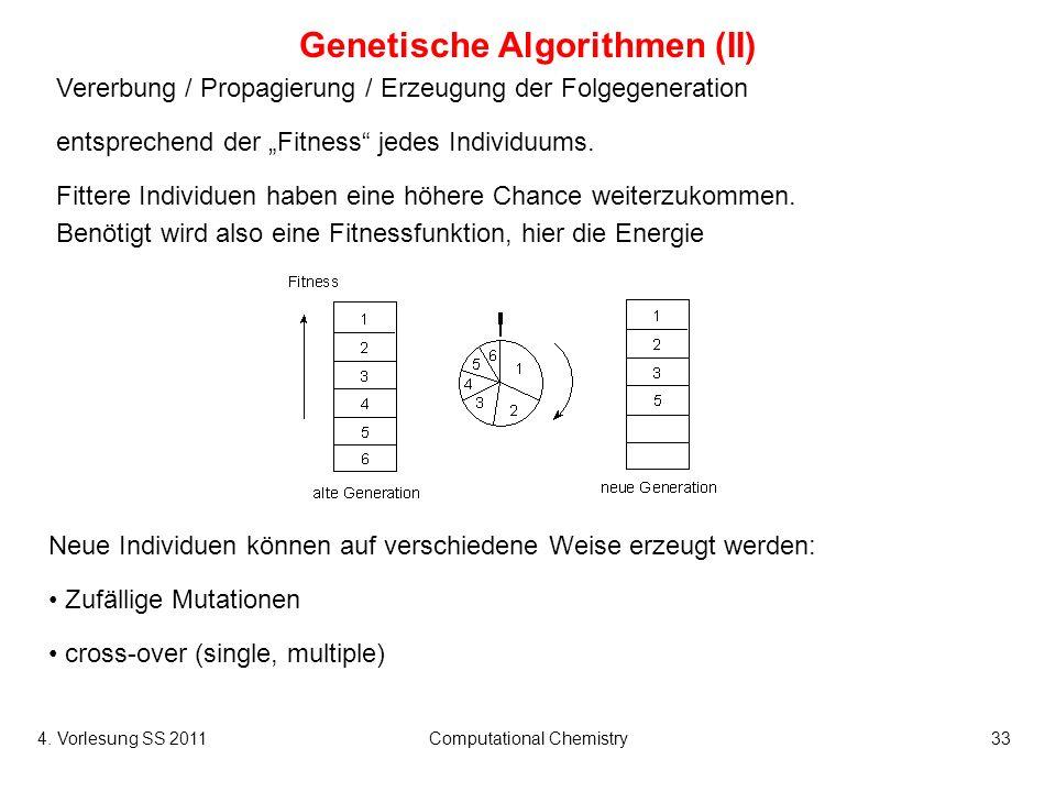 Genetische Algorithmen (II)