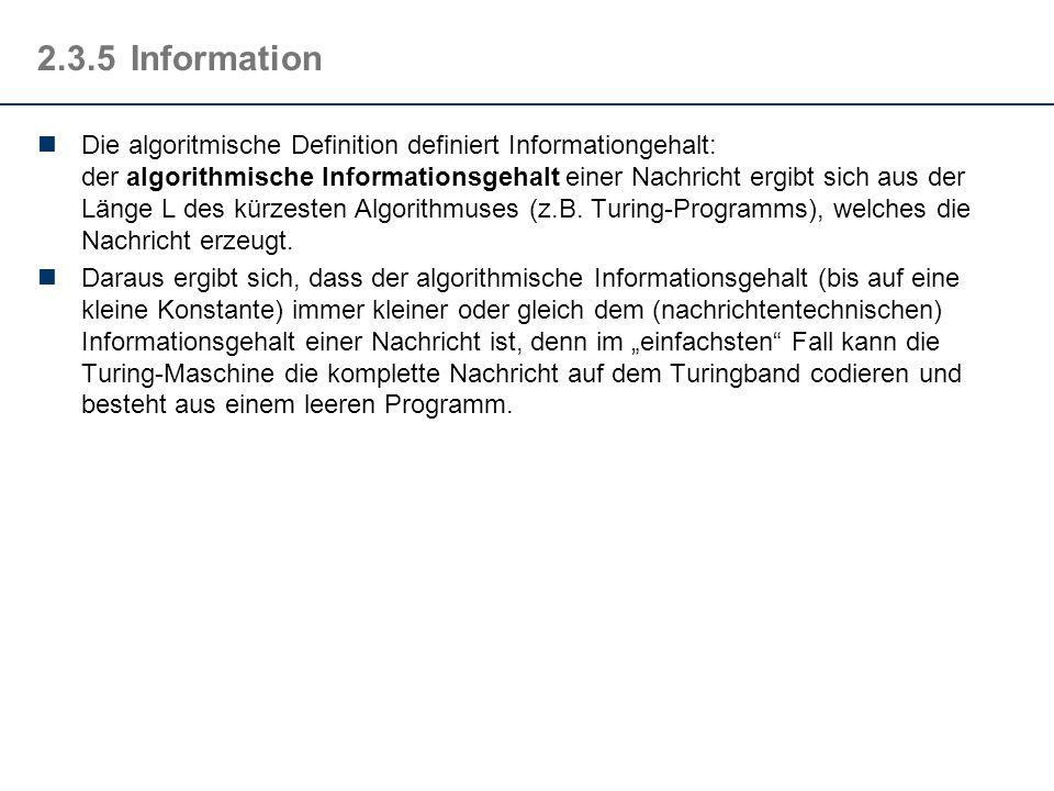 2.3.5 Information
