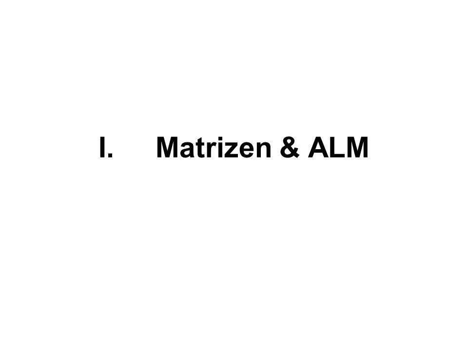 Matrizen & ALM