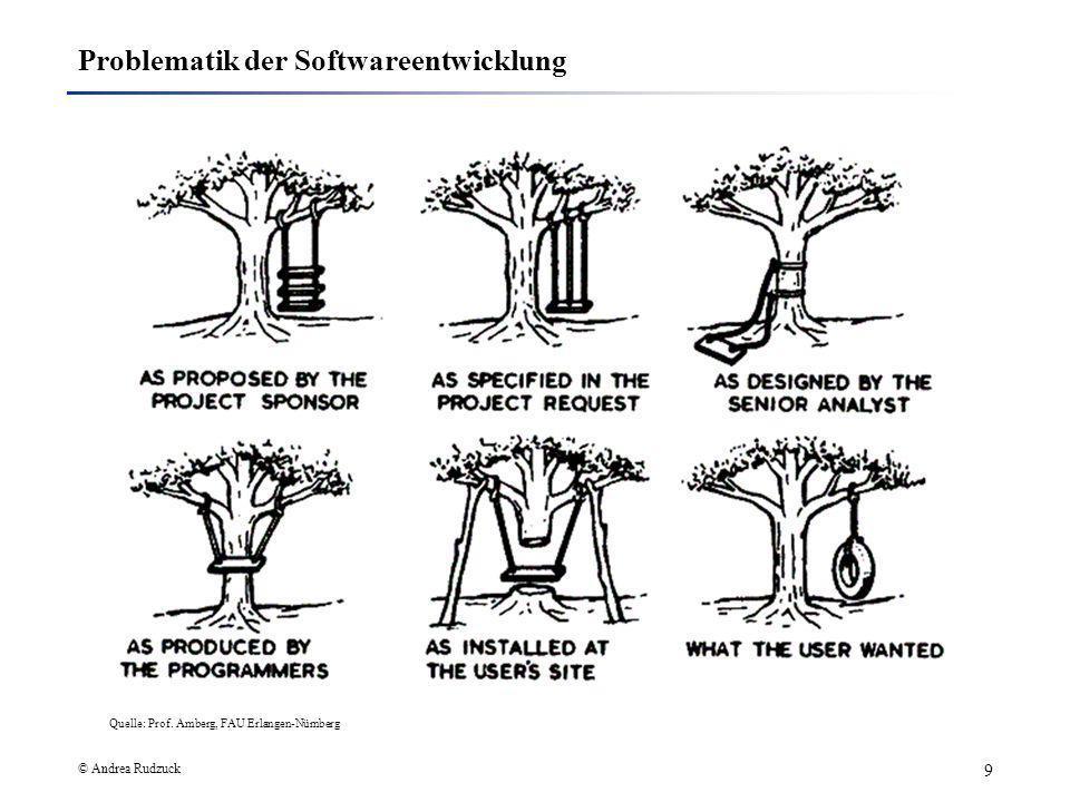 Problematik der Softwareentwicklung