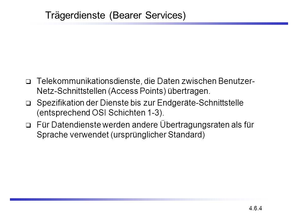 Trägerdienste (Bearer Services)