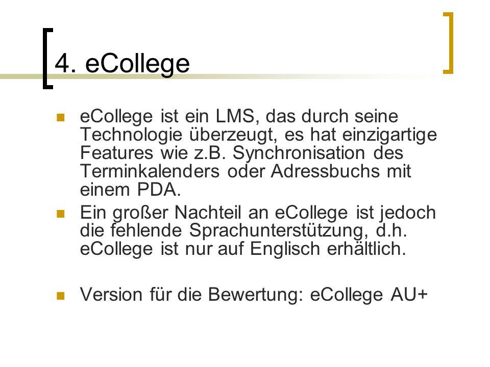 4. eCollege
