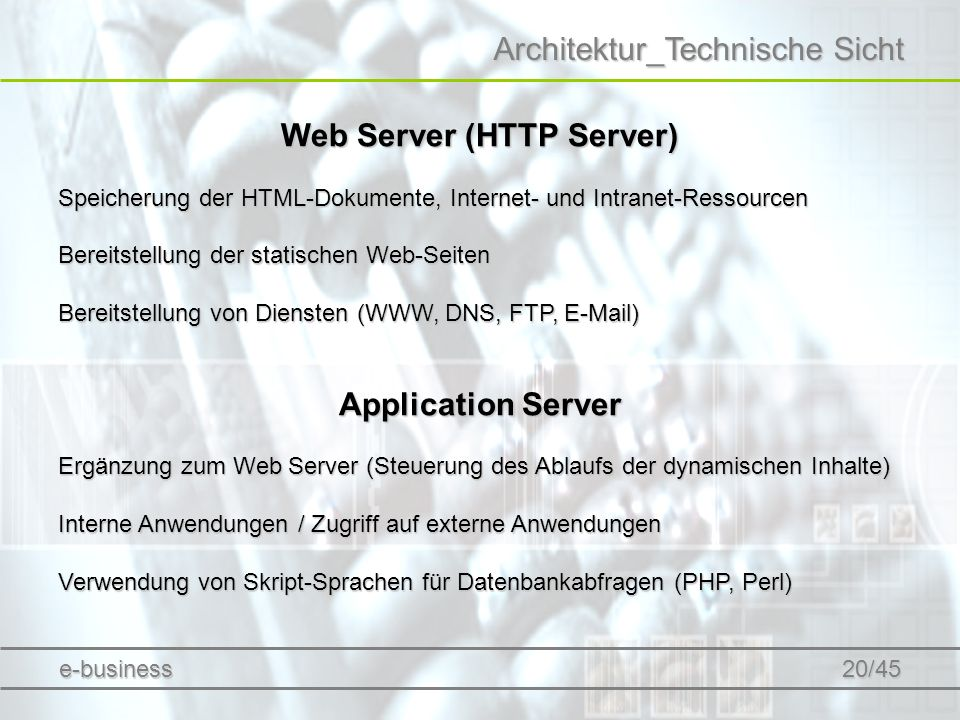 Web Server (HTTP Server)