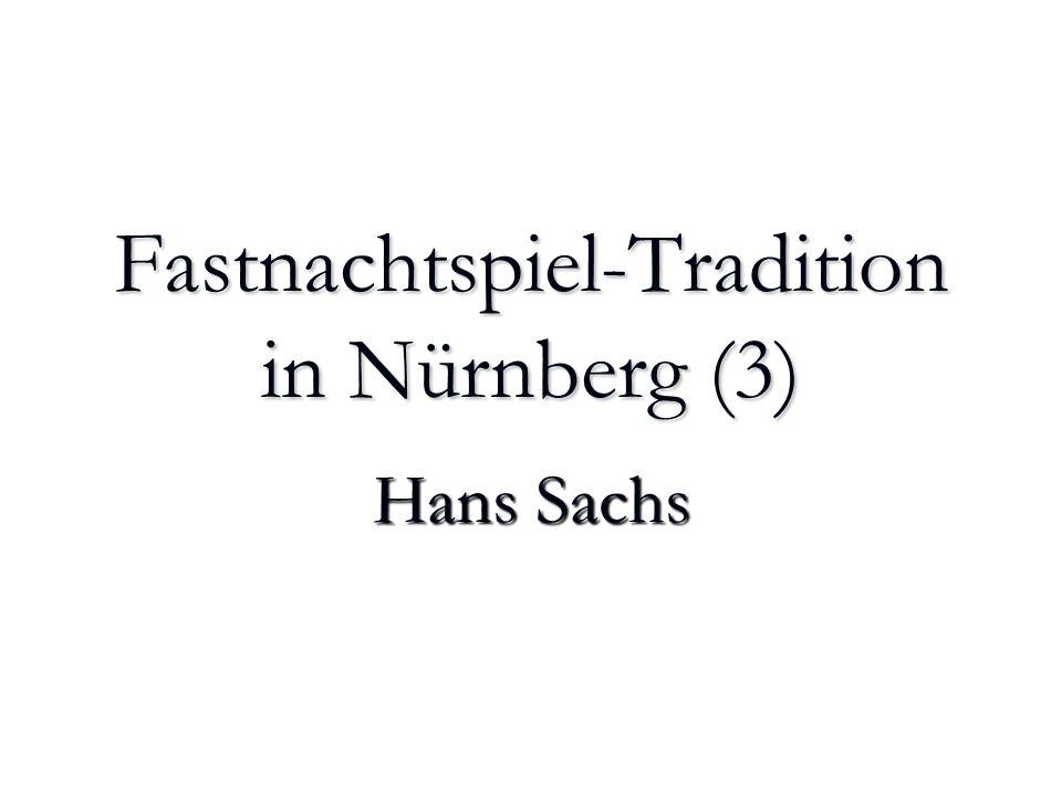 Fastnachtspiel-Tradition in Nürnberg (3)
