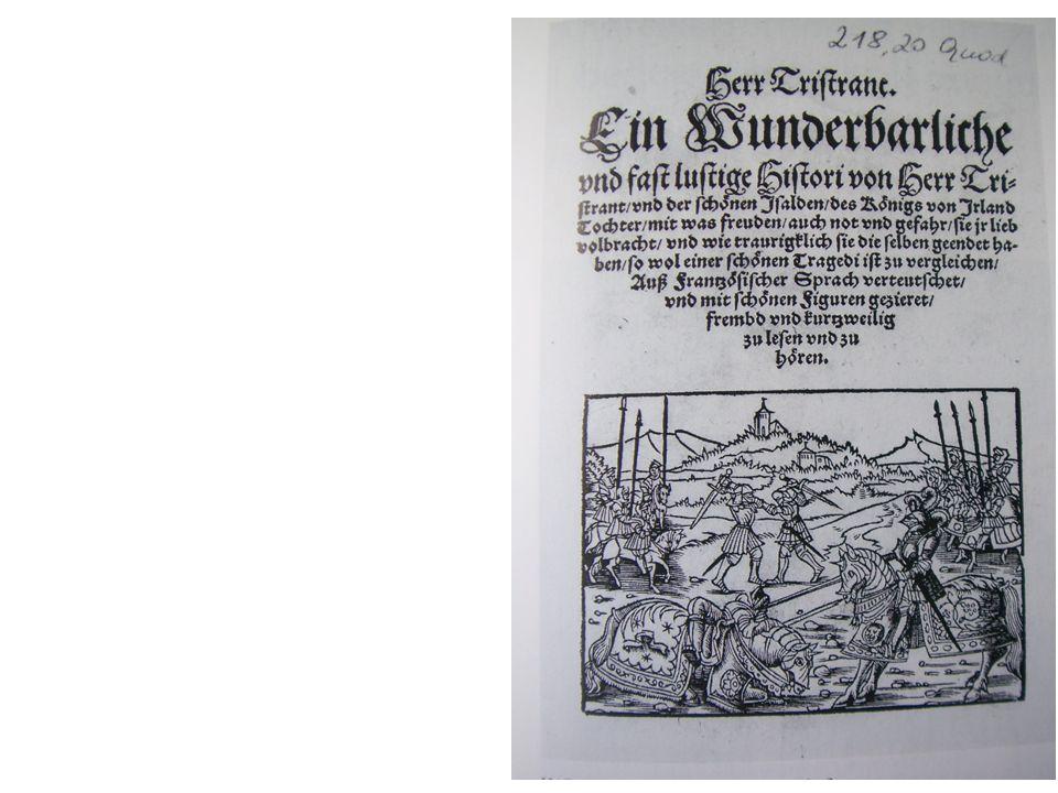 Hans Sachs, 'Histori von Herr Tristrant