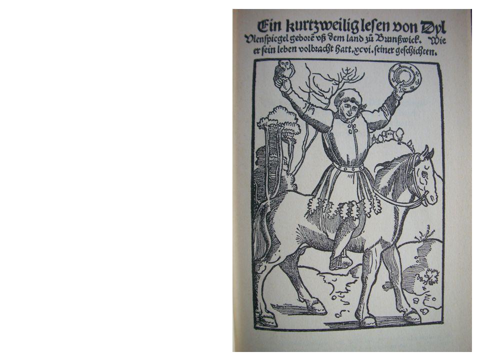 Dil Ulenspiegel, Straßburg 1515 (erster Druck)