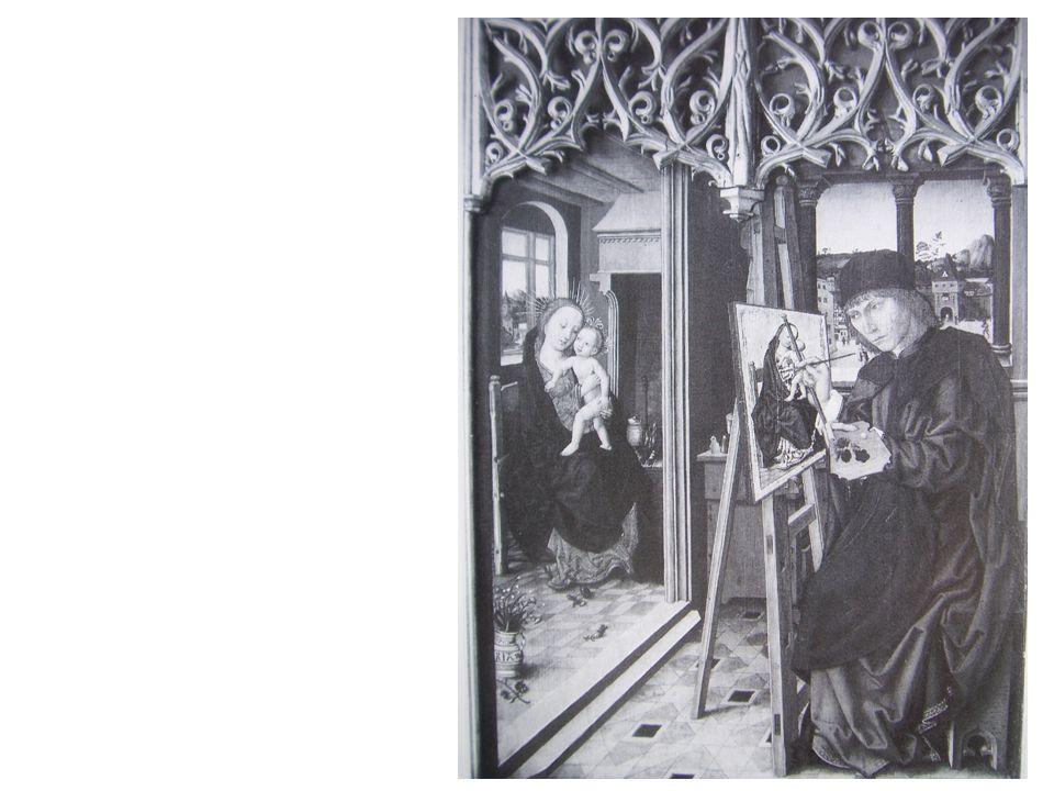 Der Evangelist Lukas malt die Jungfrau