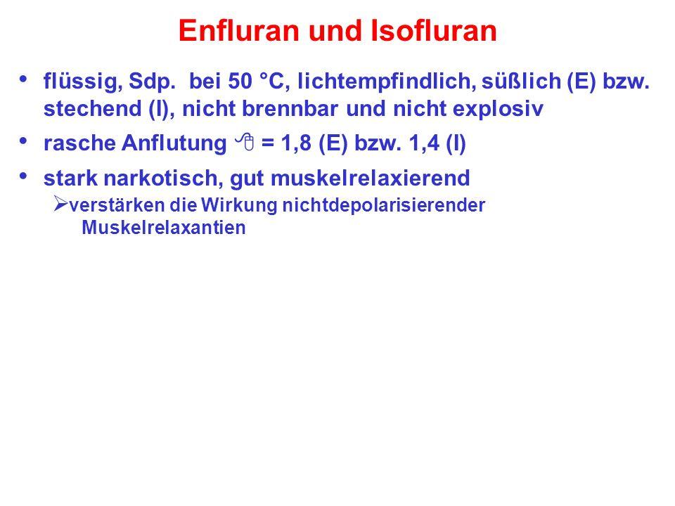Enfluran und Isofluran