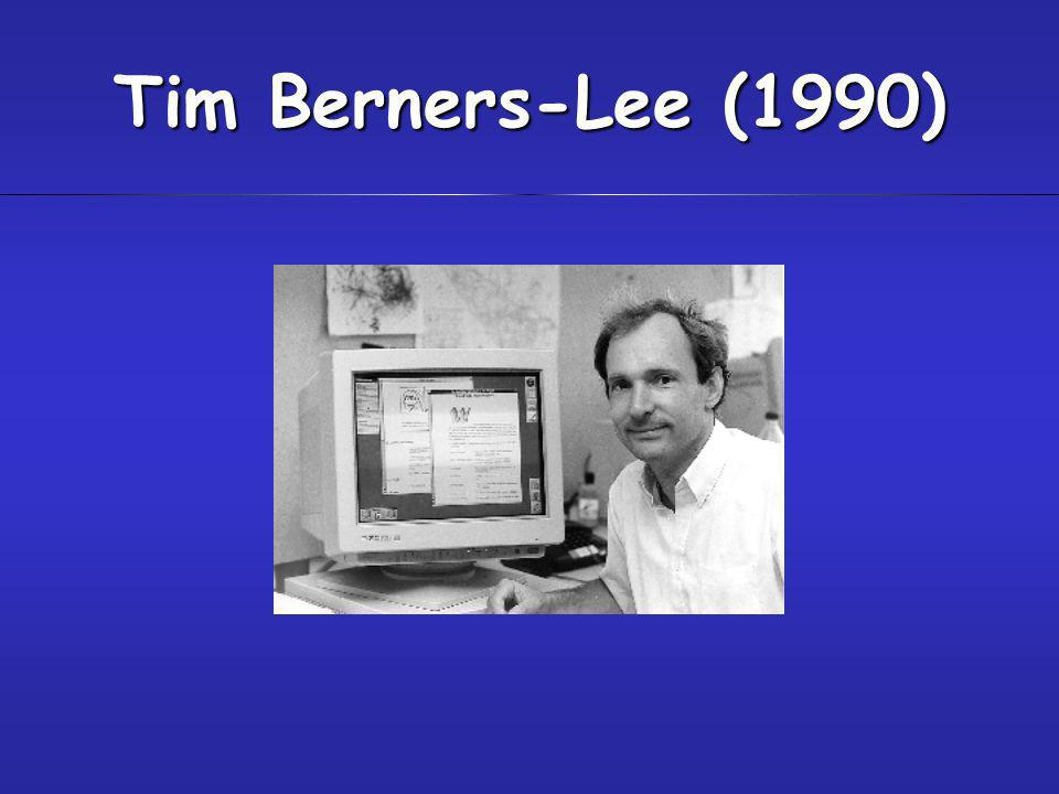 Tim Berners-Lee (1990)