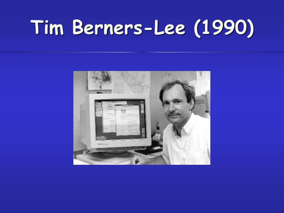 Tim Berners-Lee (1990)