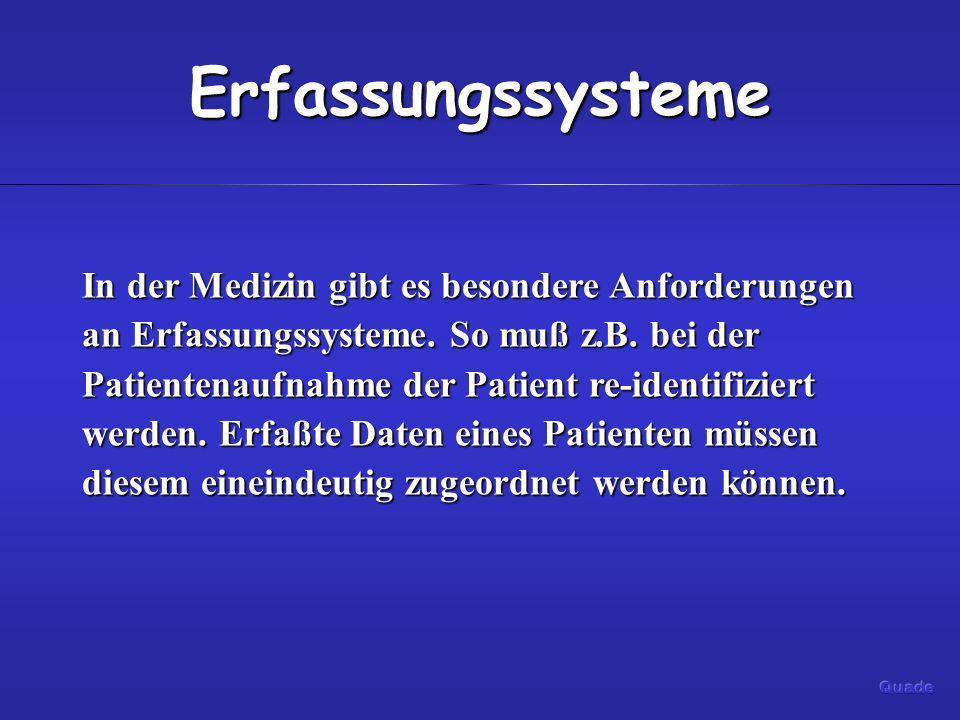 Erfassungssysteme