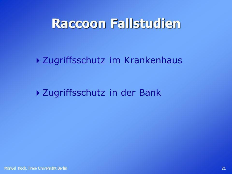 Raccoon Fallstudien Zugriffsschutz im Krankenhaus