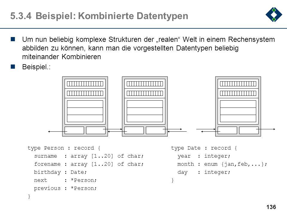 5.3.4 Beispiel: Kombinierte Datentypen