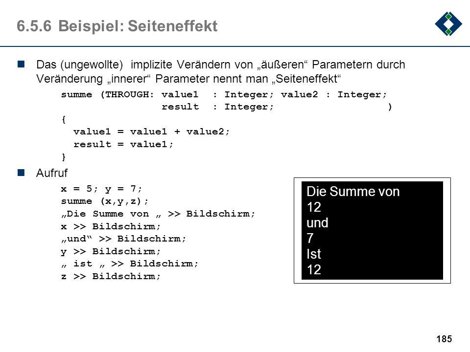 6.5.6 Beispiel: Seiteneffekt