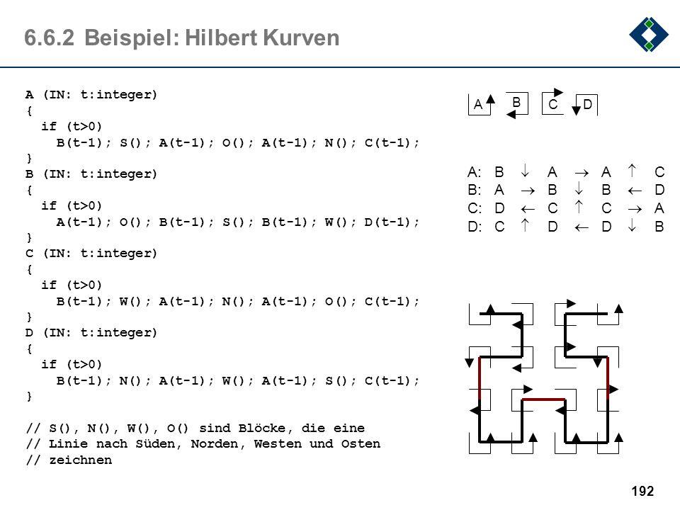 6.6.2 Beispiel: Hilbert Kurven
