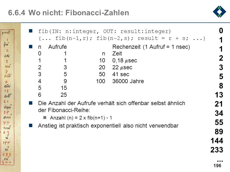 6.6.4 Wo nicht: Fibonacci-Zahlen