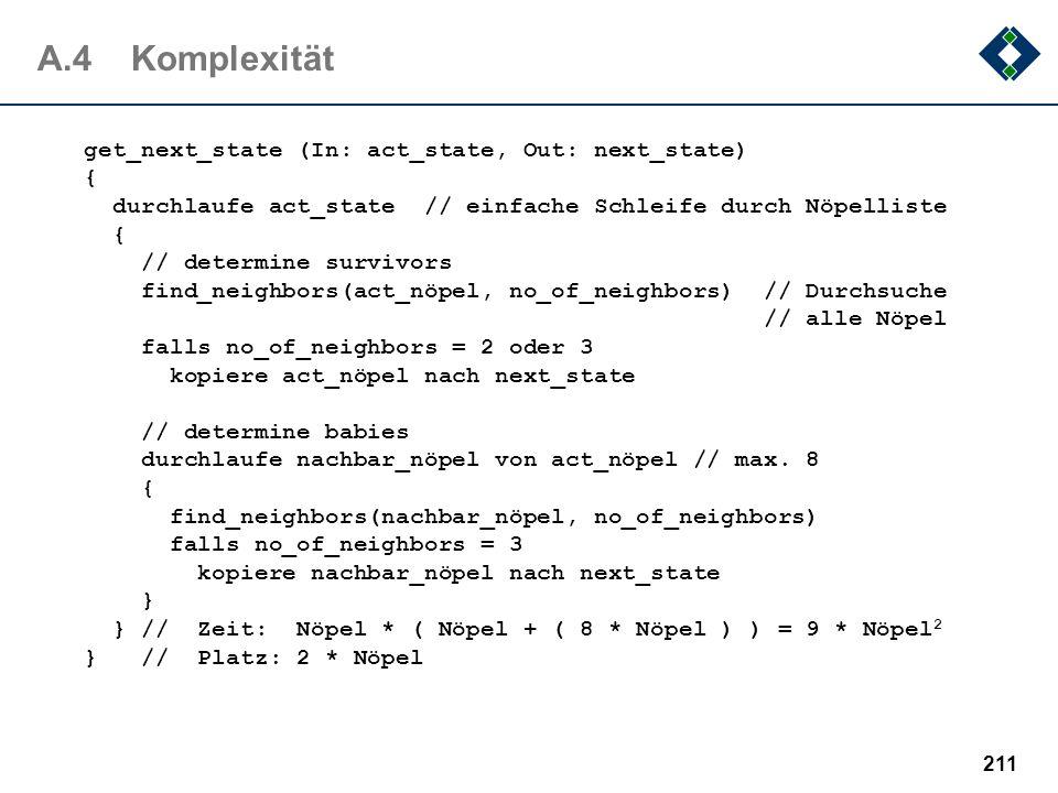 A.4 Komplexität