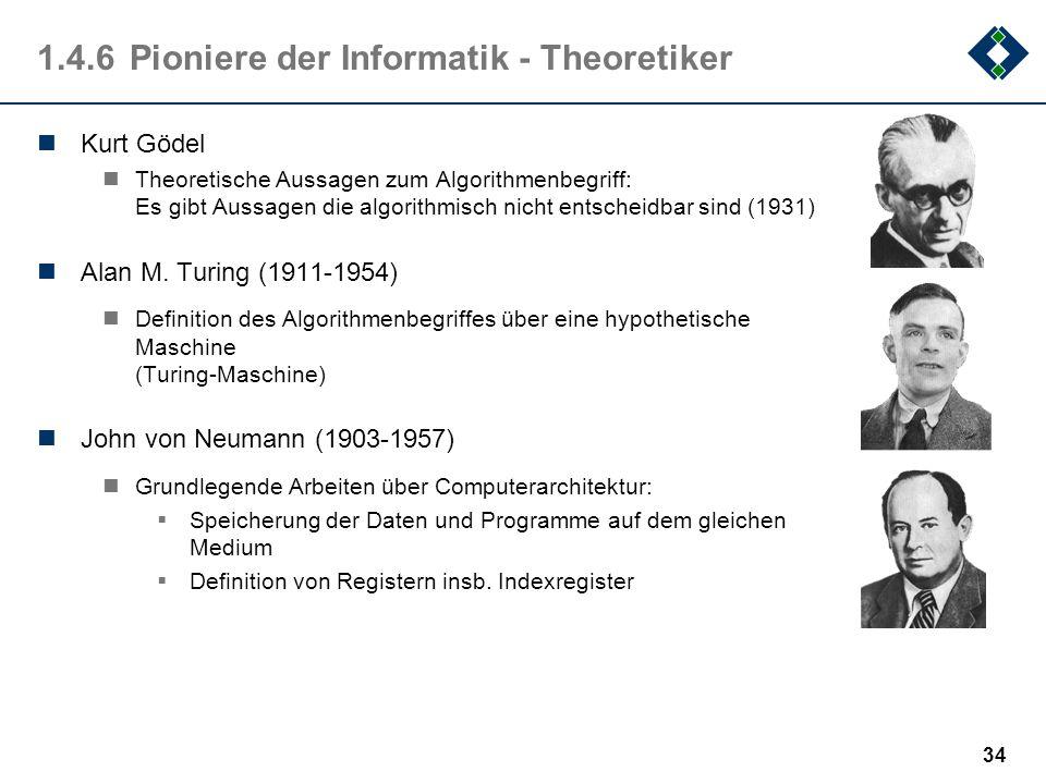 1.4.6 Pioniere der Informatik - Theoretiker