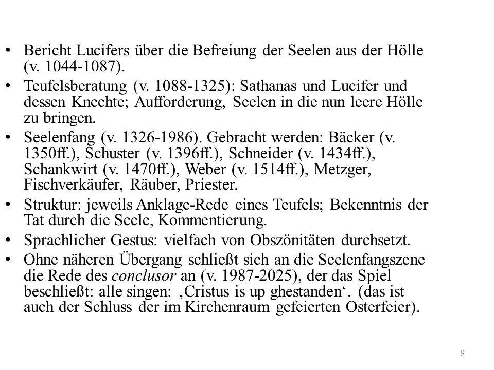 Bericht Lucifers über die Befreiung der Seelen aus der Hölle (v