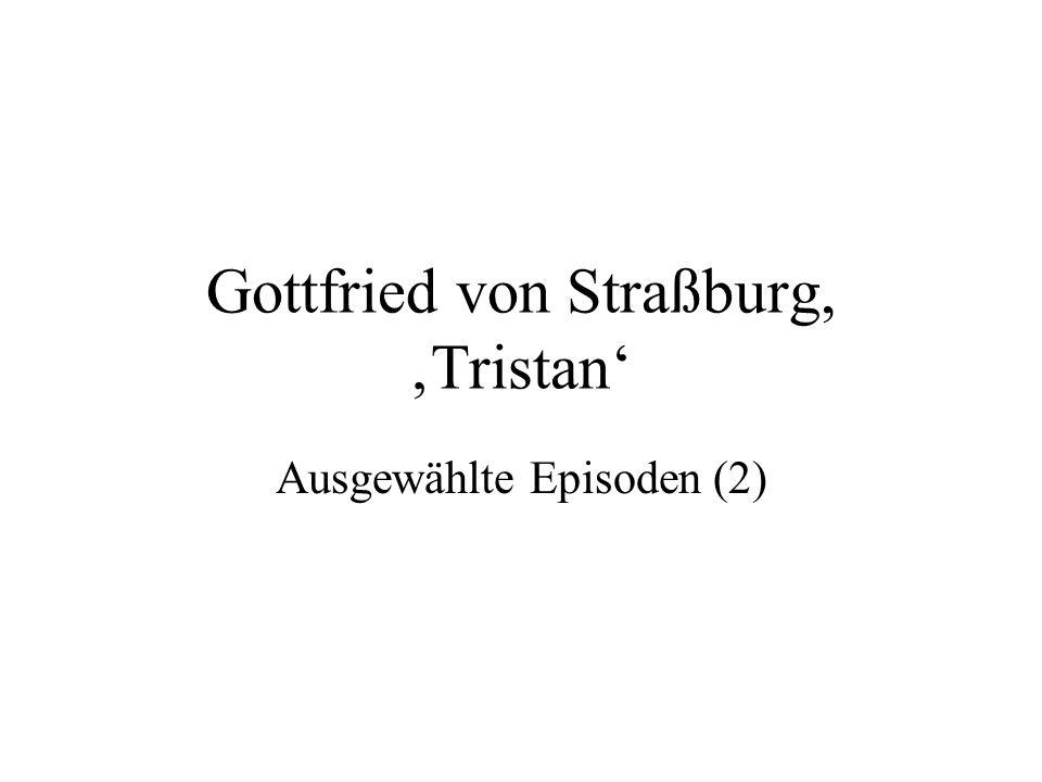 Gottfried von Straßburg, 'Tristan'