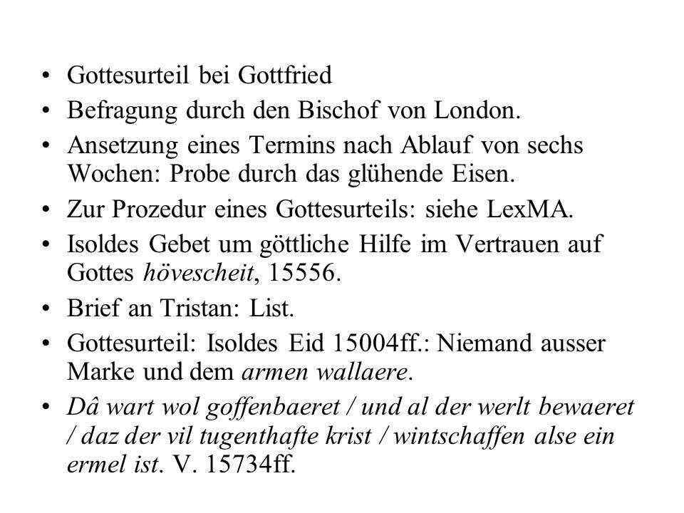 Gottesurteil bei Gottfried