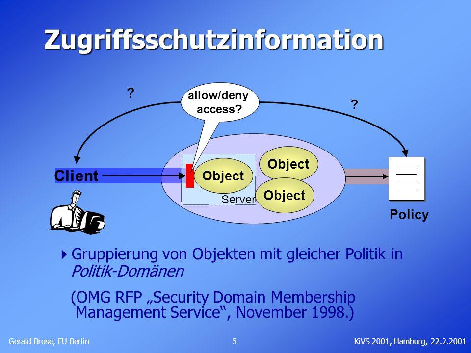 Zugriffsschutzinformation