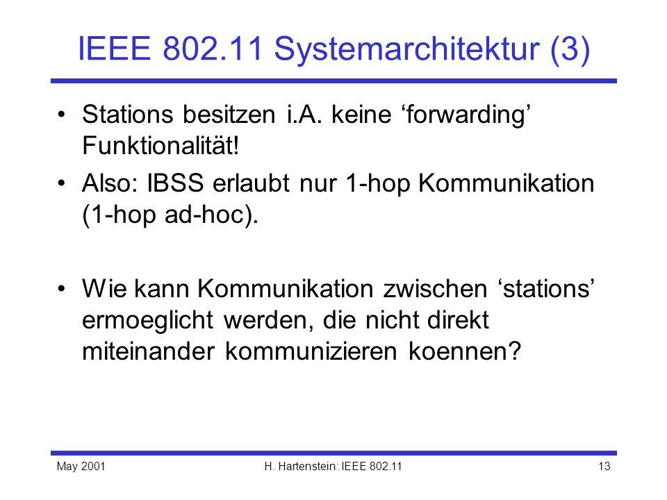 IEEE 802.11 Systemarchitektur (3)