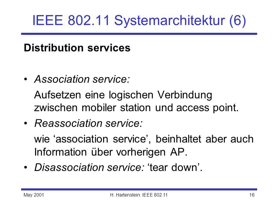 IEEE 802.11 Systemarchitektur (6)