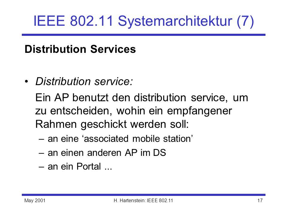 IEEE 802.11 Systemarchitektur (7)