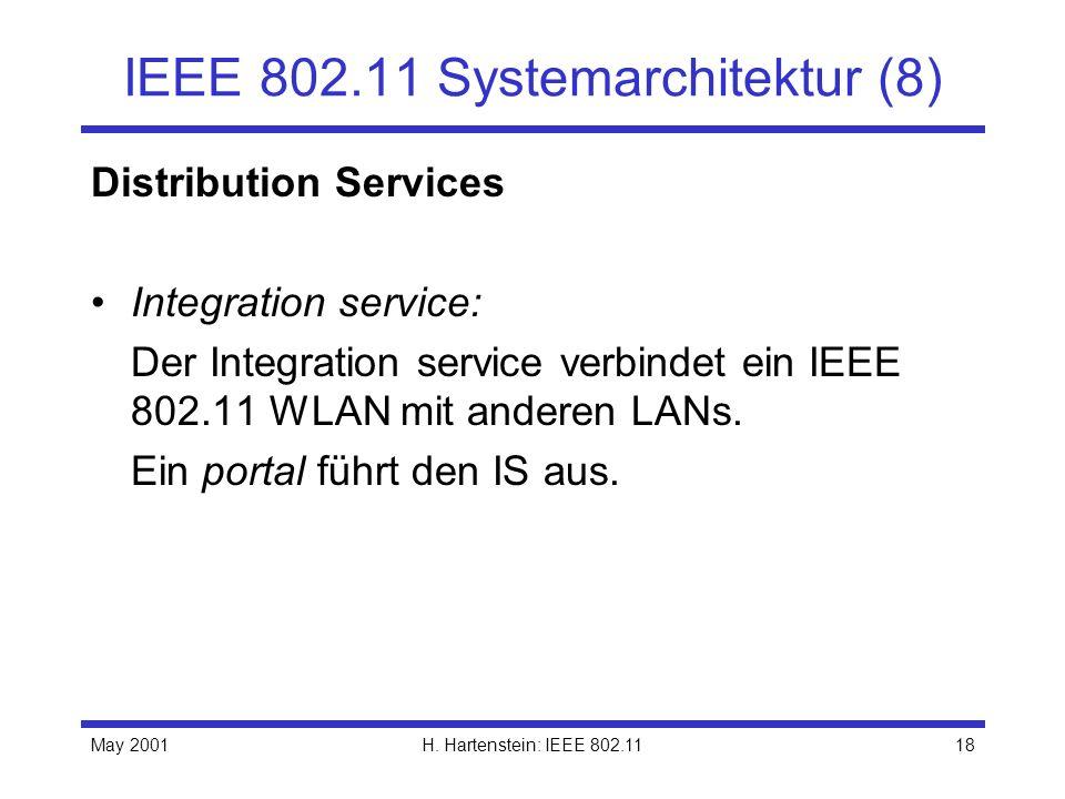 IEEE 802.11 Systemarchitektur (8)