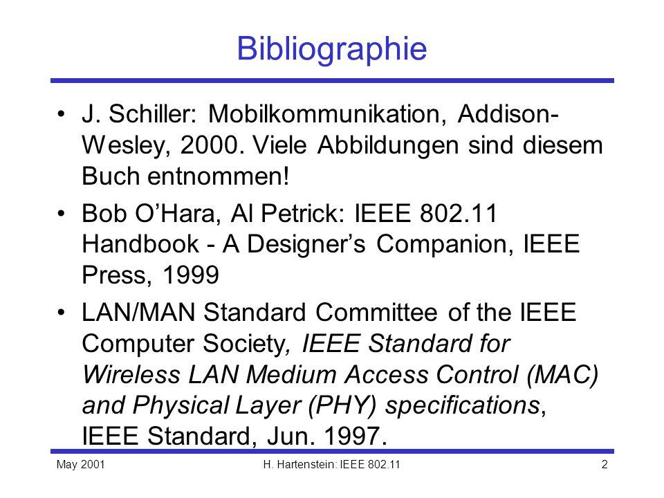 BibliographieJ. Schiller: Mobilkommunikation, Addison-Wesley, 2000. Viele Abbildungen sind diesem Buch entnommen!