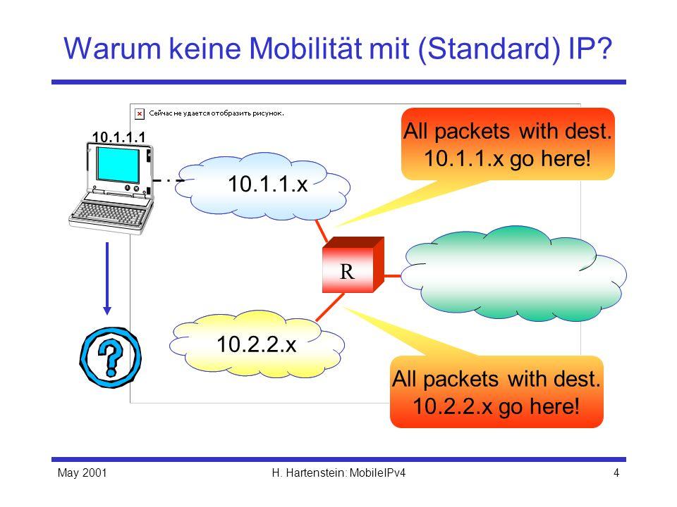 Warum keine Mobilität mit (Standard) IP