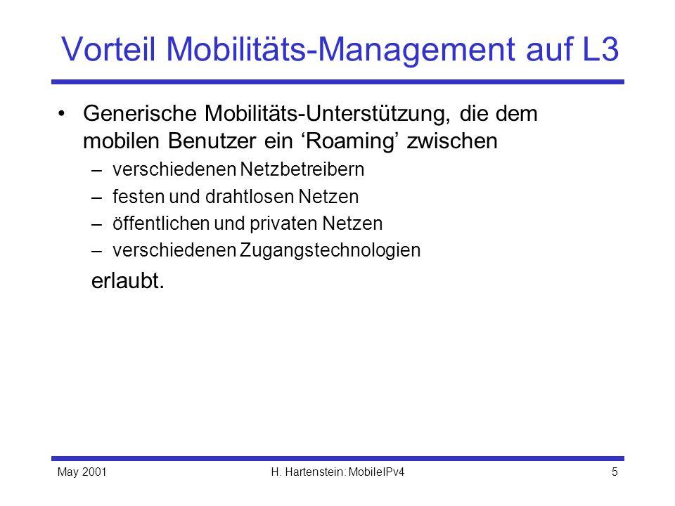 Vorteil Mobilitäts-Management auf L3