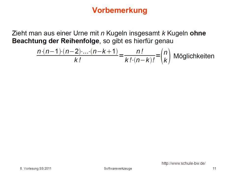Vorbemerkung http://www.schule-bw.de/