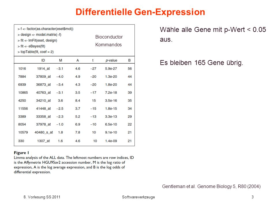 Differentielle Gen-Expression