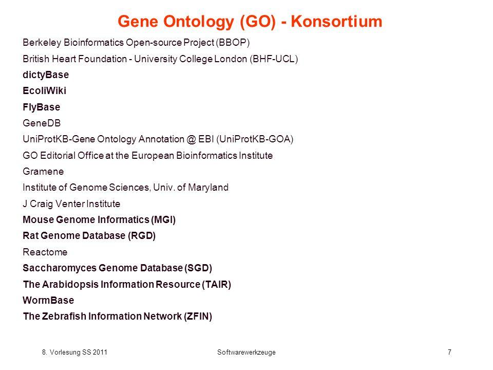 Gene Ontology (GO) - Konsortium
