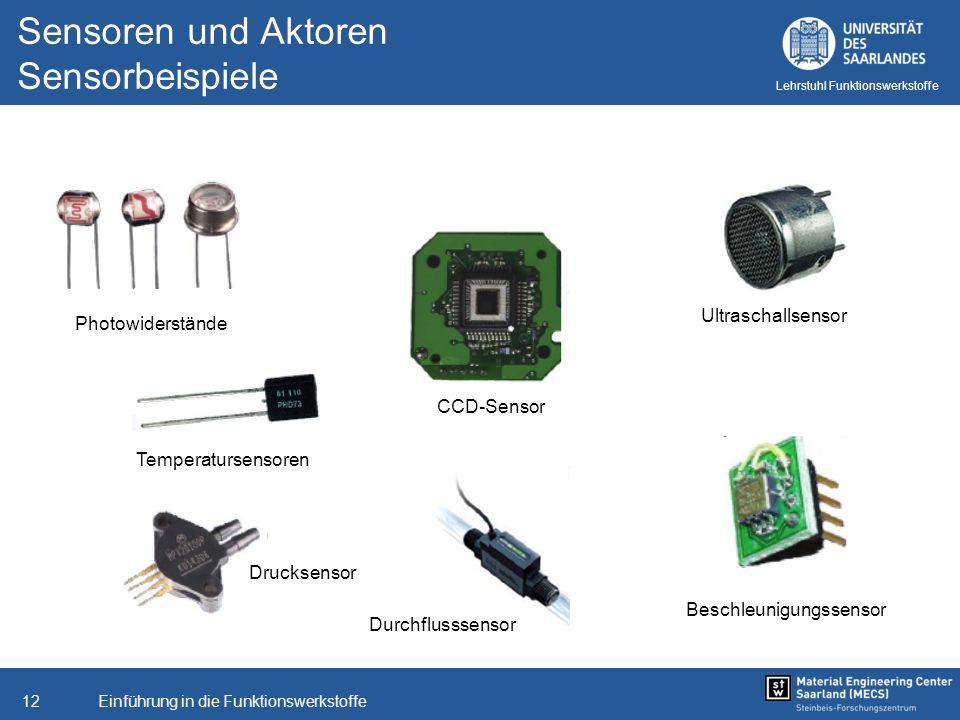 Sensoren und Aktoren Sensorbeispiele