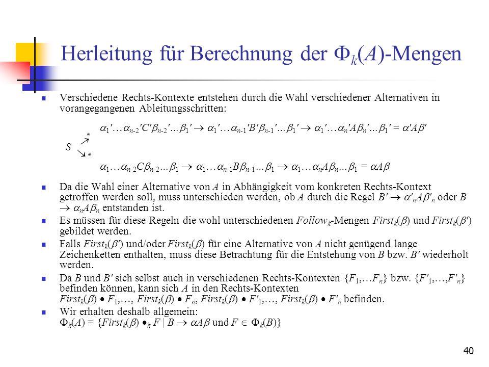 Herleitung für Berechnung der Fk(A)-Mengen