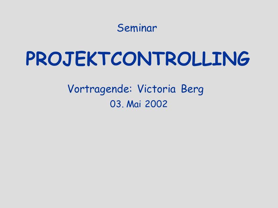 Vortragende: Victoria Berg