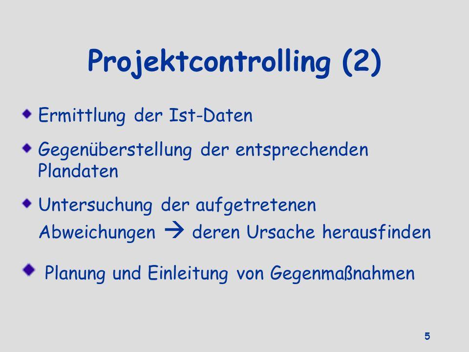 Projektcontrolling (2)